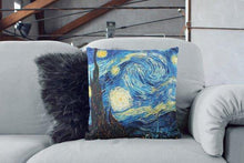 Load image into Gallery viewer, Van Gogh Starry Night Pillow Sofa Pillows