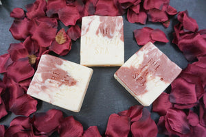 Wild Flower Wisp, Cold Process Soap, freeshipping - herfreespirit