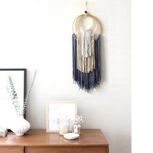 Load image into Gallery viewer, Mexican Home Decoration Hand-woven Macrame Dyed Tapestry Wall Hanging  Living Room Bedroom Study Boho Decor Wall Tapestry freeshipping - herfreespirit