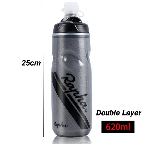 Rapha Ultralight Bicycle Water Bottle 620-750ML Leak-proof PP Drink Sport Water Bottle Bike Lockable Mouth Cycling Water Bottle freeshipping - herfreespirit