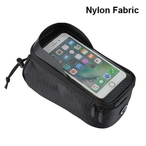WILD MAN Rainproof Bicycle Bag Frame Front Top Tube Cycling Bag Reflective 6.5in Phone Case Touchscreen Bag MTB Bike Accessories - Grandad shirt club