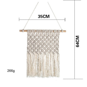 Macrame Wall Tapestry Hanging Boho Decor Home Art Decor Beautiful Apartment Dorm Room Wedding Mother Day Gifts