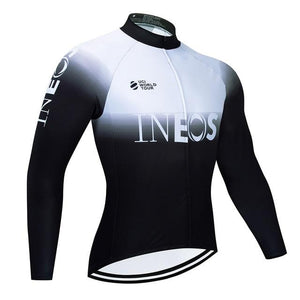 Men Cycling Jersey 2020 INEOS Shirts Maillot Ciclismo Long Sleeve Spring and Autumn Quick Dry MTB Breathable Bike Tops Clothing - Grandad shirt club