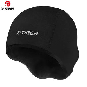 X-TIGER Winter Cycling Cap Windproof Thermal Ski Cap Running Skiing Motocycle Riding Hat Men Women MTB Bike Cycling Headwear - Grandad shirt club