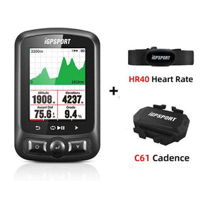 iGPSPORT Cycling Wireless Computer ANT+ Bicycle Speedometer IGS618 Bike Heart Rate Speed Cadence Sensor Computer Accessories freeshipping - herfreespirit