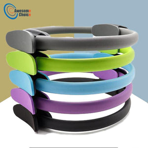 Quality Yoga Pilates Ring Magic Wrap Slimming Body Building Training Heavy Duty PP+NBR Material Yoga Circle 5 colors - herfreespirit