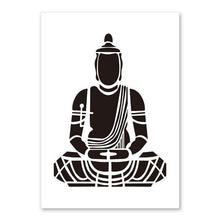 Load image into Gallery viewer, Lotus Flower Yoga Buddha Art Canvas Painting Wall Art Buddha Poster Print Pictures For Living Room Home Decoration No Frame
