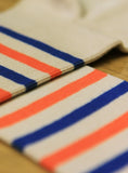 Sailor Stripes - Blue/Orange