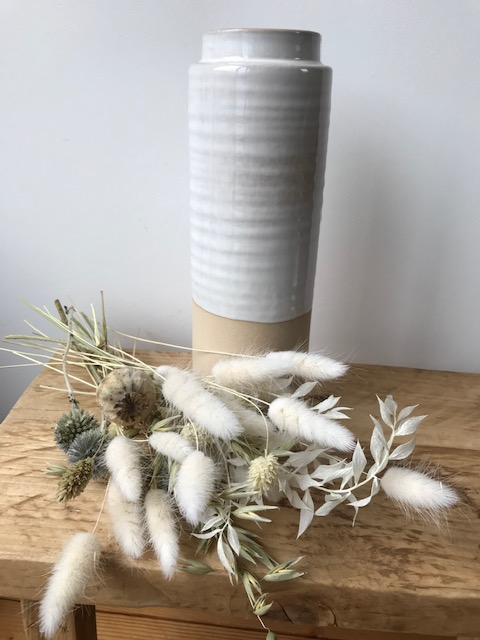 Natural Interior Two Tone Vase, 24cm