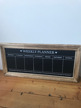 Load image into Gallery viewer, Chalkboard Weekly Planner
