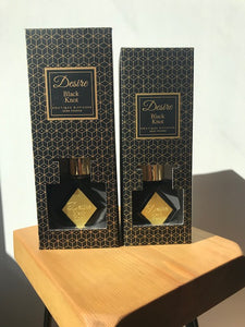 Desire Black Knot Diffuser Available in 2 sizes 200ml & 100ml