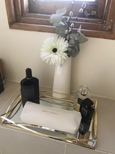 Load image into Gallery viewer, Time To Sparkle White Make Up Bag