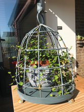 Load image into Gallery viewer, Metal Bird Cage Plant Stand