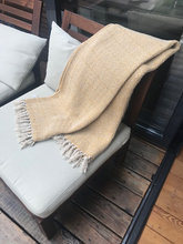 Load image into Gallery viewer, Boho Mustard Blanket Throw