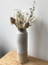 Load image into Gallery viewer, Natural Interior Two Tone Vase, 24cm