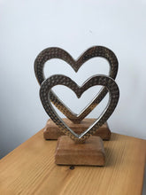 Load image into Gallery viewer, Open Heart Ornament 2 Sizes 13 cm & 17cm