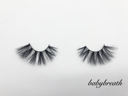 Glamour Volume Round Shape Fluffy  Eyelashes-Babybreath