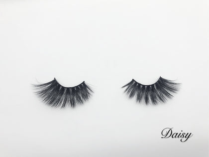 Glamour Volume Flare Shape Fluffy Natural Mink Eyelashes-Daisy