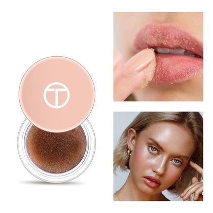 Moisturize Frosted Lips Scrub Remove Dead Skin Gel Exfoliating Lip Balm Cosmetics Autumn Winter Care