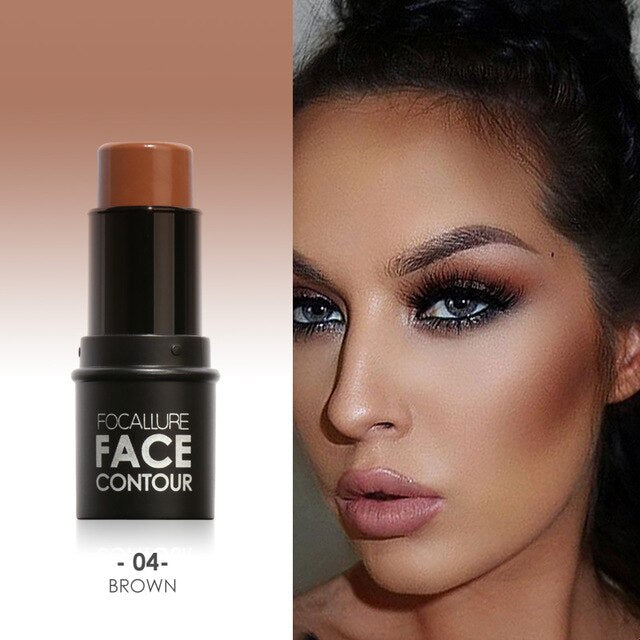 Bronzer Highlighter Face Makeup Easy to Wear