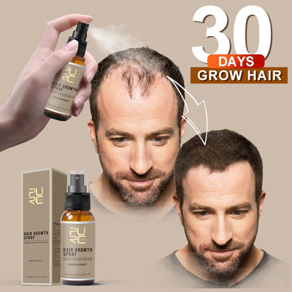 New Fast Hair Growth Ginger Essence Oil Hair Loss Treatment Helps Hair Growth Hair Care