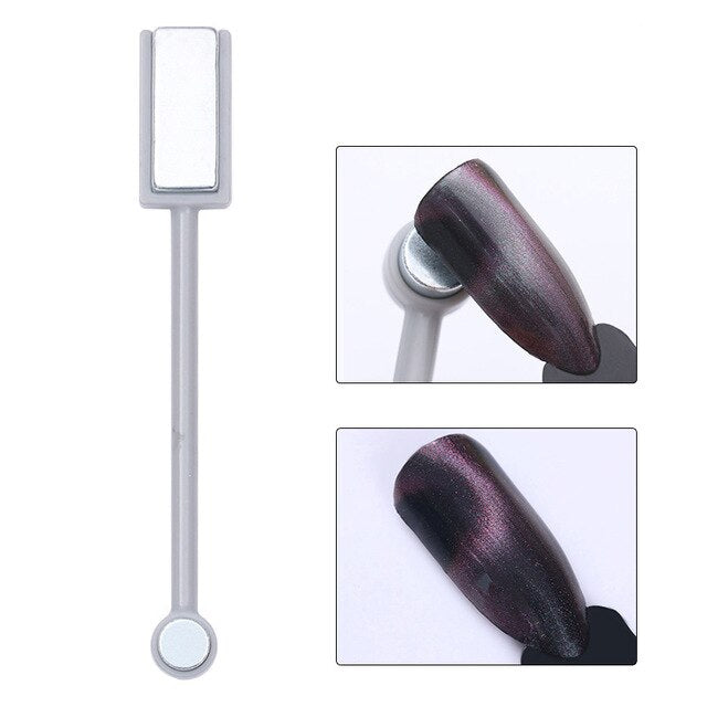2 in 1 Double Headed Nail Art Magnet Stick 9D Cat Eyes