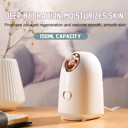 Spray Thermal Face Steamer Machine Facial Mist Hydration Humidifier Beauty Purify Cleaning Facial Skin Care Tool