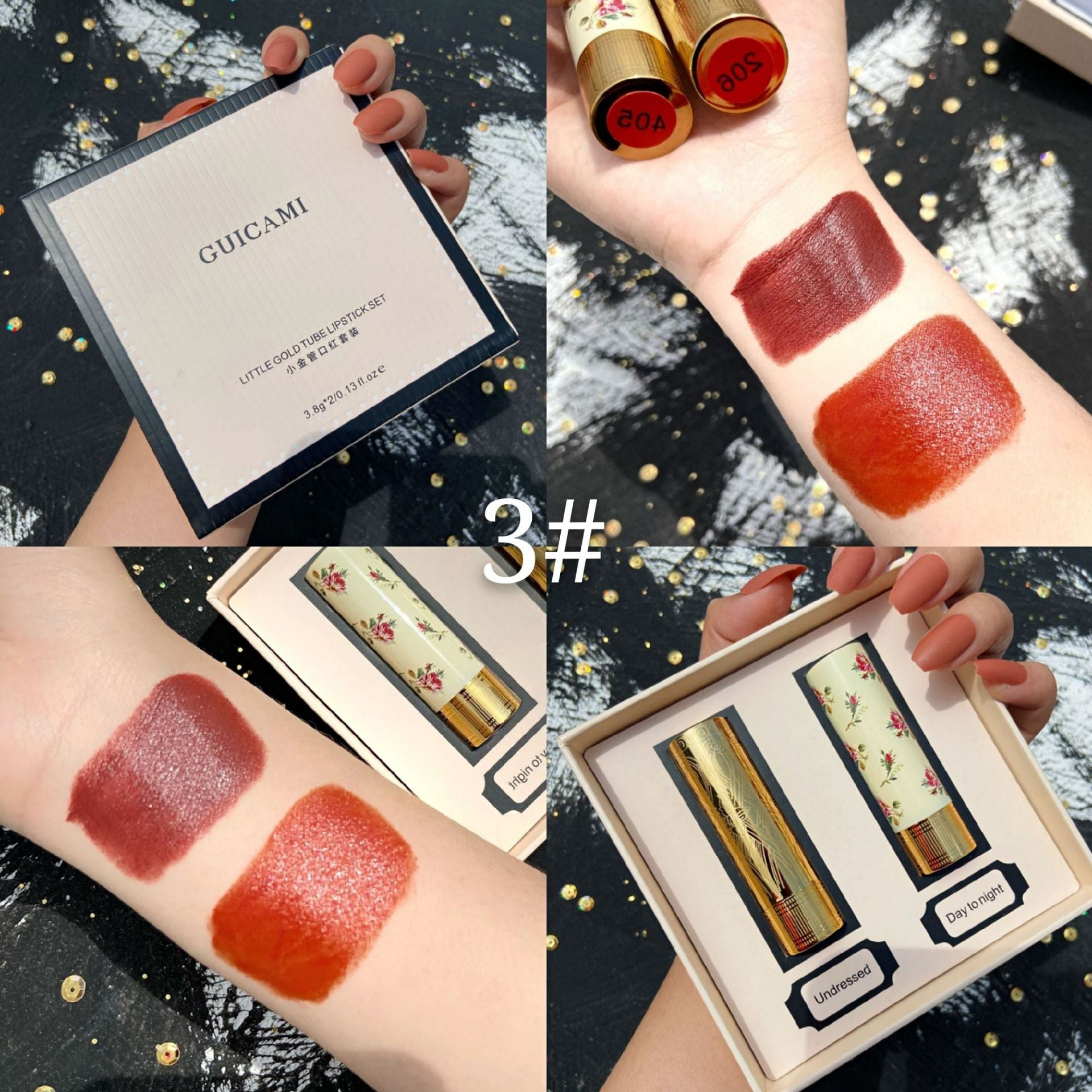 Lipstick Matte Full Professional Make Up Beauty Lips Stick Waterproof Cosmetics Matte Lipsticks Set Makeup