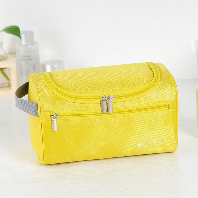 Hanging Cosmetic bag Business Makeup Case Travel Make Up Zipper Organizer Storage Pouch Toiletry Wash Bath Kit