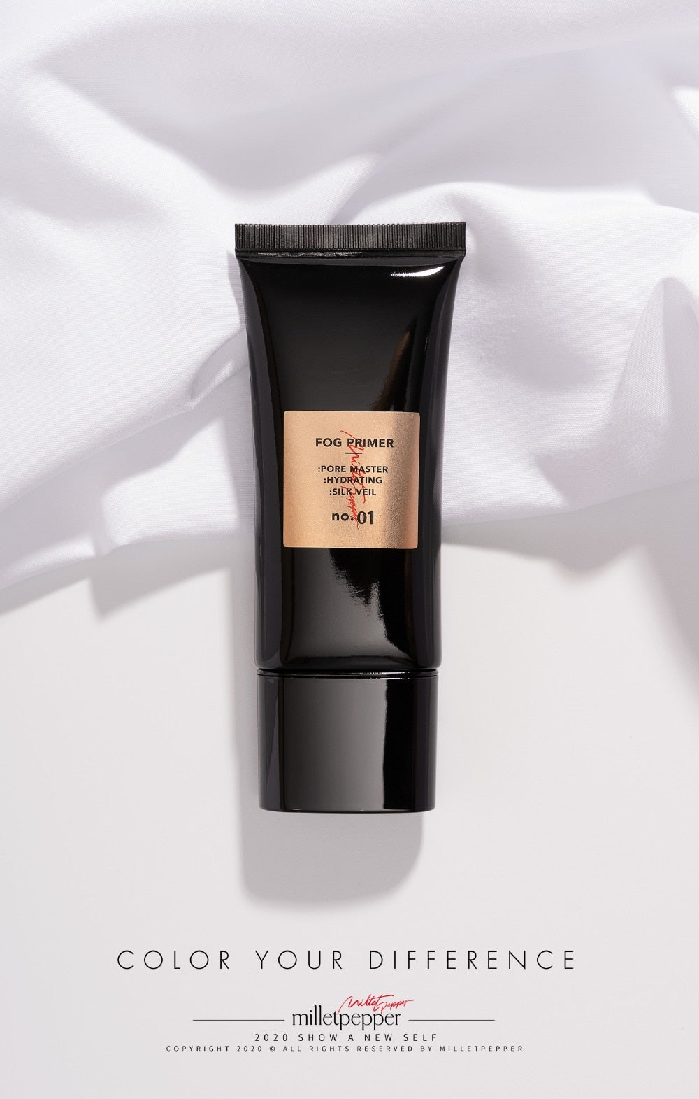 Primer Matte Finish Face Base Makeup Smooth Face Brighten  Skin Invisible Pores Concealer Primer