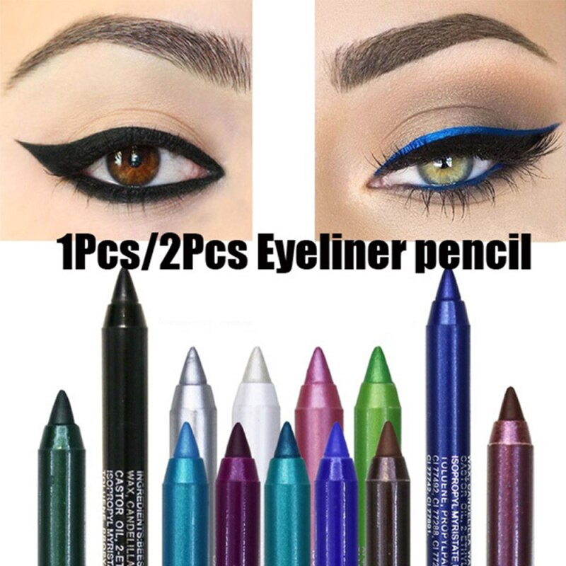 Colorful Eyeliner Waterproof Matte Eye Cosmetics Shadow