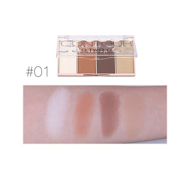 4 Colors Concealer Palette Face Makeup Base Contouring Palette