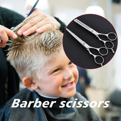 Professional Hair Cutting Thinning Scissors Barber Shears Hairdressing Salon Hair Clipper