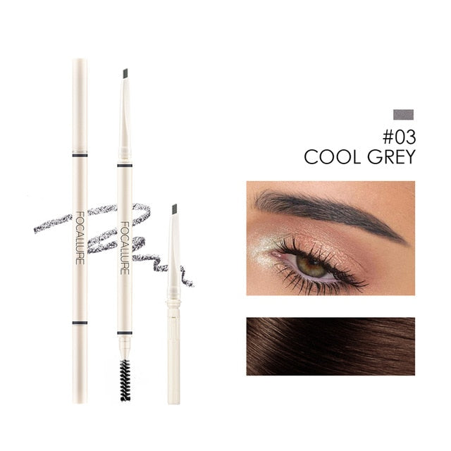 Eyebrow Pencil Natural Long-Lasting Eyebrow Pencil Brown Grey Taupe Waterproof