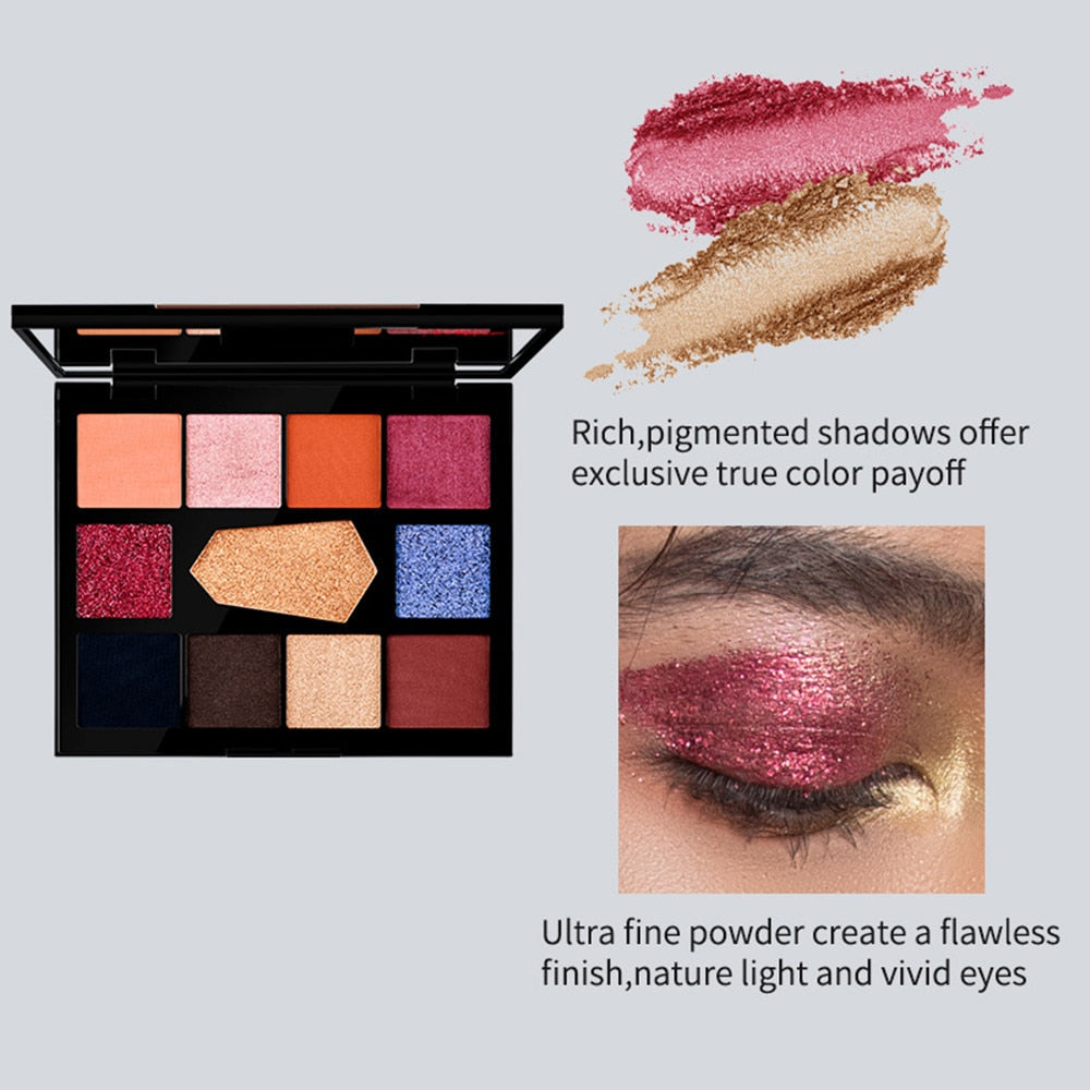 Charming Pigment Shimmer Glitter Long Lasting Makeup Eye Shadow