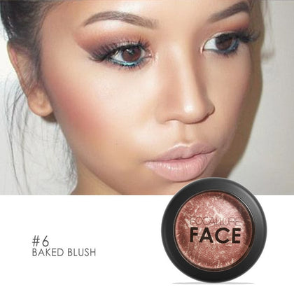 Matte Blush Rouge Powder Lasting Brighten Skin Colour Concealer Foundation Face Makeup