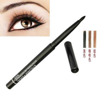 Quick-dry Starry Brighten Eyes Eyeliner Waterproof  Liquid Eyeliner Lasting Smooth Black Eyeliner Pencil