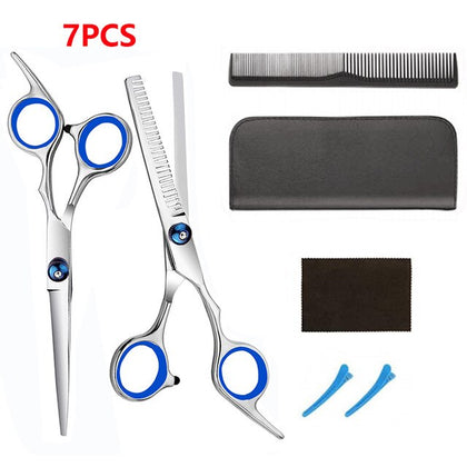 Professional Hair Cutting Scissors Set  Barber Hair Cutting Shears Set