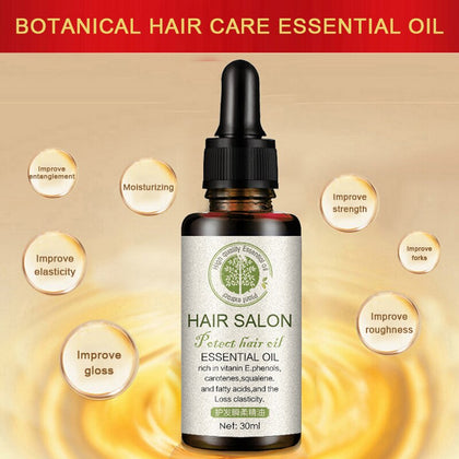 Hair Regrowth Serum Brighten Hair Color Improve Withered Nourishing Hair Essential Oil Conditioners