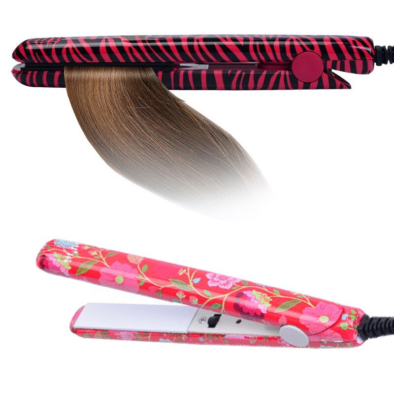 Electronic Hair Iron Hairstyling Portable Ceramic Flat Iron