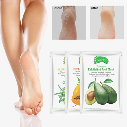 Foot Peel Mask Pedicure Socks Exfoliating Moisturizing Socks for Pedicure Remove Dead Foot Spa