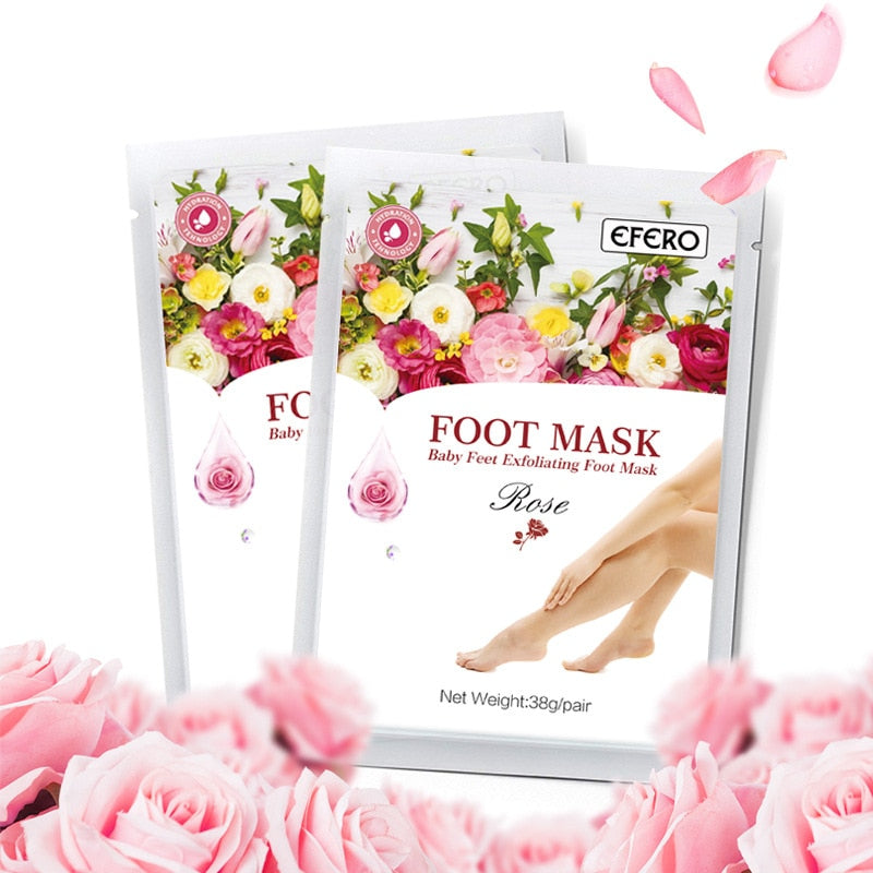 Exfoliating Foot Mask Peel Socks For Pedicure Remove Dead Skin