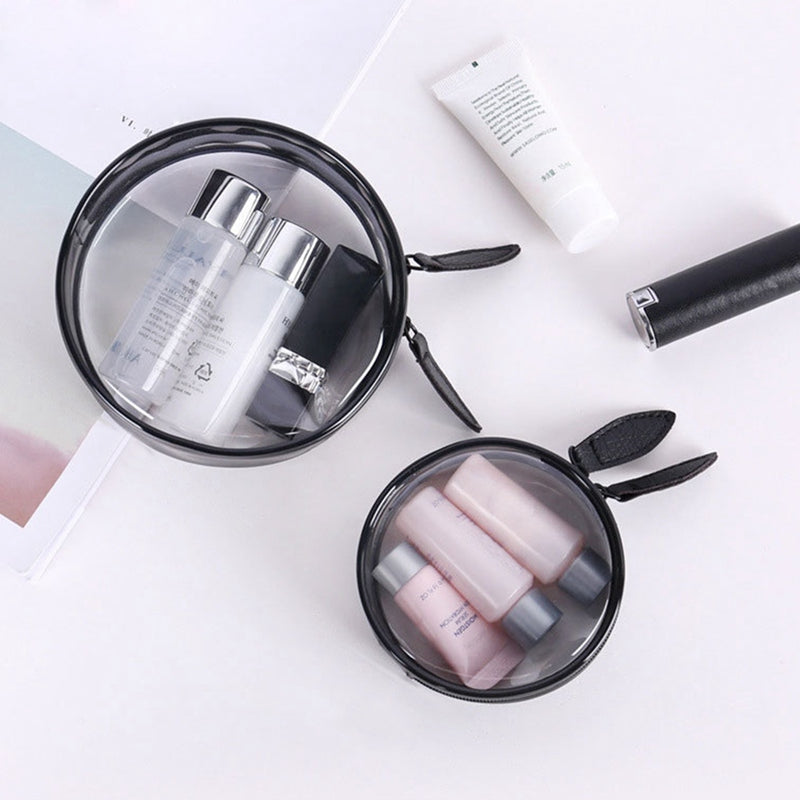 PVC Cosmetic Bag Waterproof  Makeup Case Women Travel Makeup Bag Clear Wash Organizer Bath Toiletry