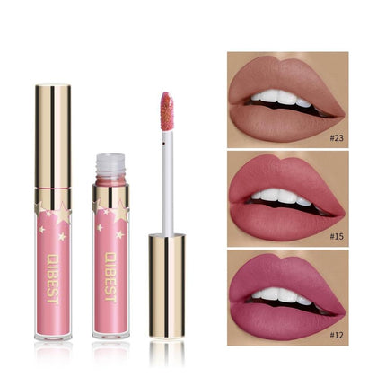 Liquid Lipstick Waterproof Lipgloss 24 Color Lipgloss Makeup Cosmetic Long Lasting Lip Tint Lip Gloss Matte