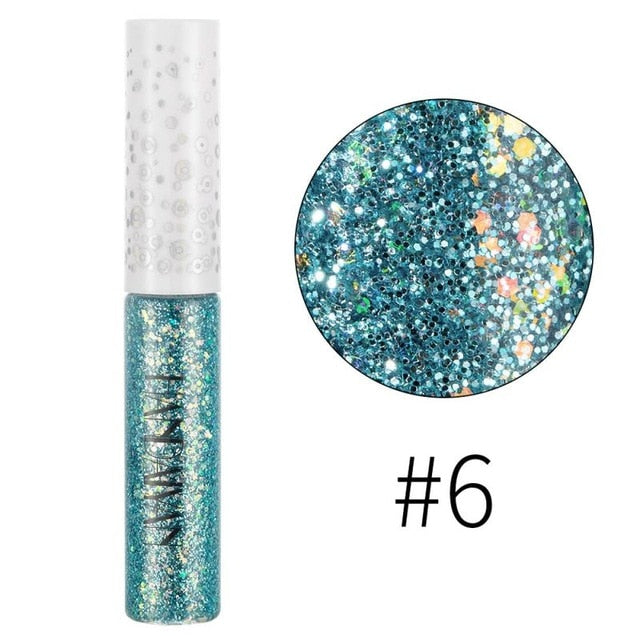 Liquid Shimmer Eyeliner Pencils Glitter Charm Shining Delineador Eye Makeup Cosmetic