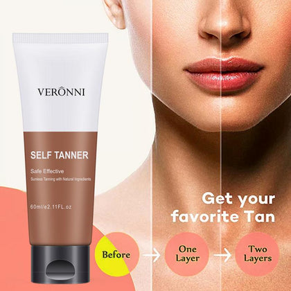 Body Tanning Cream Sunscreen Self Sun Tanning Enhance Lotion Hydrated Beauty Body Skin Care Cosmetics