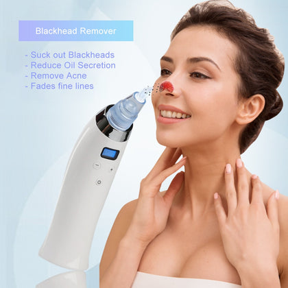 Blackhead Remover Suction Pore Vacuum Cleaner Skin Care Device Nose Deep Cleaning Tool Acne Pimple Removal Cleaner