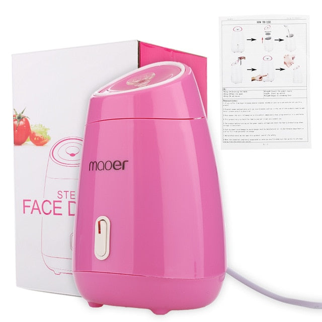 Nano Facial Mist Steamer Sprayer SPA Moisturizing Face Humidifier Deep Cleansing Skin Care Beauty Machine