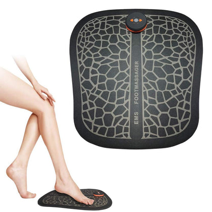 Foot Massager ABS Physiotherapy Revitalizing Pedicure Tens Foot Vibrator Wireless Muscle Stimulator USB Rechargeable