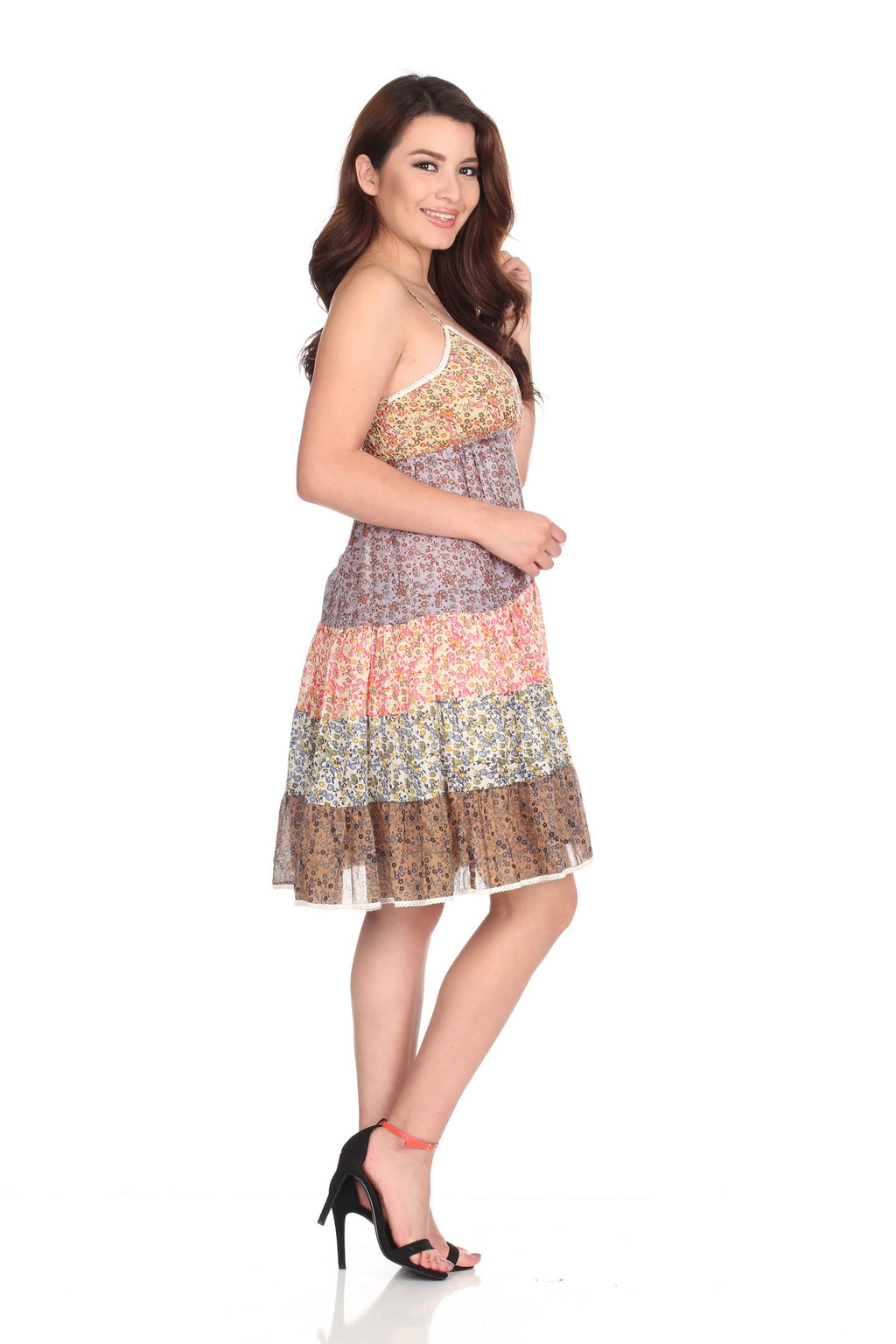 Multiple Layer Dress Short